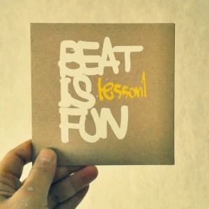 BEAT IS FUN  lesson1
